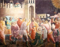 Stoning of St Stephen : UCCELLO, Paolo : Art Images : Imagiva