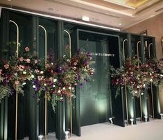 The Effective Pictures We Offer You About wedding decorations purple A qu Wedding Backdrop Design, Reception Backdrop, Wedding Stage Decorations, Backdrop Decorations, Wedding Centerpieces, Backdrop Ideas, Wedding Photo Walls, Photowall Ideas, Luxury Wedding Decor