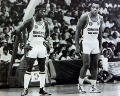Billy Ray Bates and Michael Hackett Philippine Basketball Association, Billy Ray, Basketball Teams, Retro, Sports, San Miguel, White People, Hs Sports, Retro Illustration