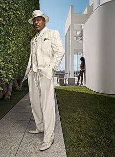 Check out how Ving Rhames styles it up in the spring time...you gotta love this guy.