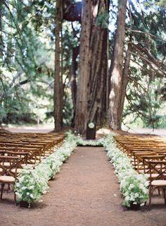 Gorgeous ceremony inspiration: http://www.stylemepretty.com/2015/02/17/announcing-laurie-arons-2015-wedding-planner-masterclass/ | Photography: Jose Villa - http://josevilla.com/