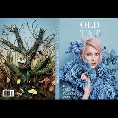 Flowers for fashion editorial. Frontcover: Old Tat Magazine - Issue 2 Photography Tussunee Roadjanarungtong Styling: Carolina Mizrahi. Flowers and props; Yan Skates