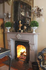 Romancing the Home: Snow Bound and a Big Case of Decorating Fever