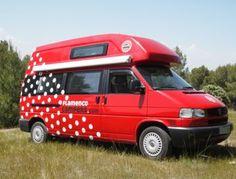 Lola VW California Exclusive by Flamenco Campers #campervan #campervanrentspain