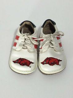 9881dc9f00e531 Team Squeak Baby Razorback Squeaker Shoe Size 4  fashion  clothing  shoes   accessories  babytoddlerclothing  babyshoes (ebay link)