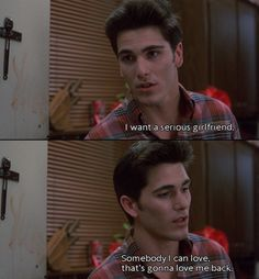 I want somebody that I can love that's gonna love me back. Someone that's like Jake Ryan.