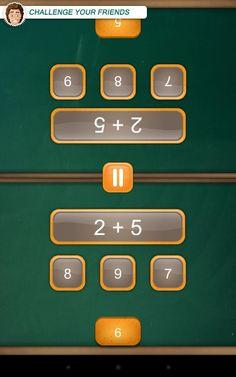 Math Duel. App de cálculo para dos jugadores.