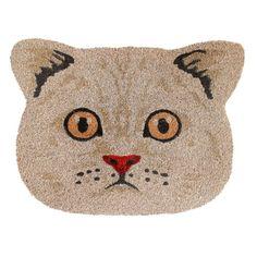 Cute Cat Face, The Husk, Outdoor Doors, Indoor Outdoor, Coir Doormat, Burlap Ribbon, Home Decor Shops, Deco Mesh, Summer Time