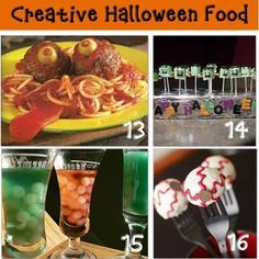 Halloween Party Food For Kids {Edible Halloween Crafts} by tonya
