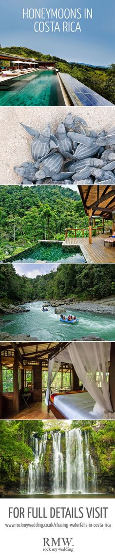 Mr & Mrs Smith Honeymoons in Costa Rica | http://www.rockmywedding.co.uk/chasing-waterfalls-in-costa-rica/
