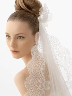 lace butterfly veil