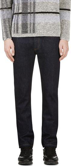 Valentino - Indigo Slim Fit Jeans