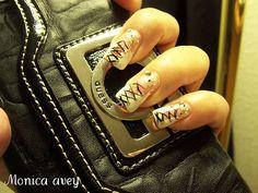 Unhas decoradas 25  nails by monibela, via Flickr