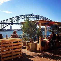 Sydney, Australia: great place to have a pop up bar! Keeping it simple, you can put all energy into having the most special location! popuprepublic.com