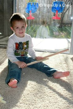 Rhythm and Movement for Kids {Rhythm Sticks} ~ Learn Play Imagine - Website has LOTS of great activities to moving and learning