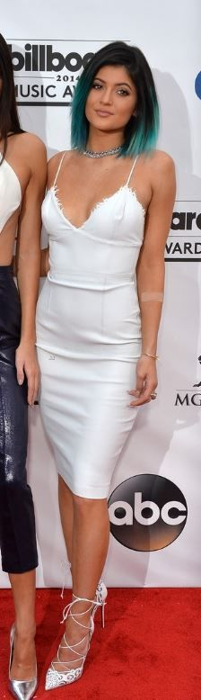 Kylie jenner fashion and style kylie jenner dress white