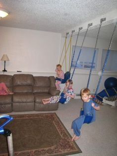 Indoor swings... basement future?