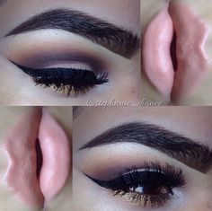 a little less thick above the eye ball an itl look twice as good