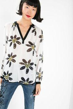 Camisas & Tops Desigual Blusa Happy