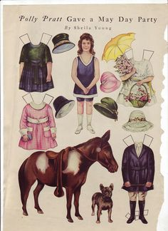 Kathleen Taylor's Dakota Dreams: Thursday Tab- More Magazine Paper Dolls