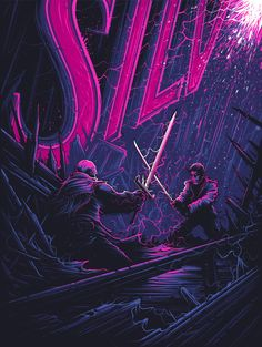 """Dan Mumford """"There Can Be Only One"""" Print"""
