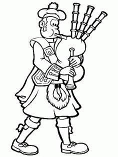 Simple-shapes # Egg Coloring Pages printable coloring page image for kids of all ages. Coloring Pages To Print, Coloring Book Pages, Coloring Pages For Kids, Adult Coloring, Egg Coloring, Scottish Bagpipes, Scottish Kilts, Scotland Map, Paisley Color