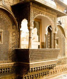 "King's palace, Jaisalmer, Rajasthan, (INDIA) by navkbrar on Flickr. """""