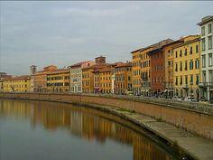 Pisa, Tuscany, Italy: http://www.europealacarte.co.uk/blog/2011/01/29/things-to-do-tuscany/