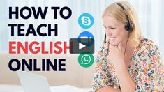 Lecture 1 of online course How to Teach English online via Skype and get paid. Online English Teacher, Online Tutoring, Job S, English Lessons, Earn Money, Online Courses, How To Become, Knowledge, At Least