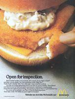 1980 vintage restaurant AD McDonalds Filet O Fish sandwich Restaurant Ad, Vintage Restaurant, Fast Food Restaurant, Retro Recipes, Vintage Recipes, Ethnic Recipes, Mcdonald's Filet O Fish, Mcdonalds Fast Food, Fish Sandwich