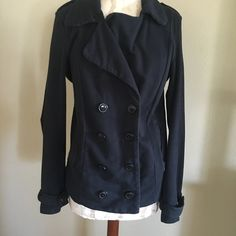 Lucky brand coat Very cute and casual coat! No holes rips or stains Lucky Brand Jackets & Coats
