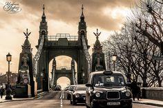 Hammersmith Bridge - London, England