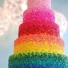 M Wedding Cake