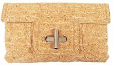 Sondra Roberts Oversized Cork Clutch. An AWESOME addition to any closet needing a face lift