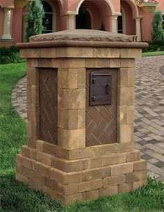 Cambridge Fully Assembled Grand Column is a multi-dimensional design makes a grand statement from top to bottom.