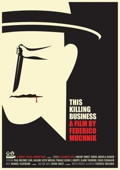 This Killing Business, movie poster  Illustration: Noma Bar