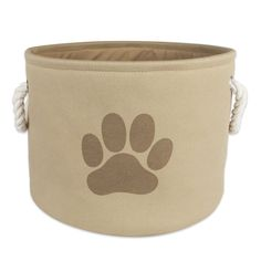 DII Bone Dry Pet Toy and Accessory Storage Basket for Home Décor and Everyday Use ** Quickly view this special dog product, click the image : Dog Toys