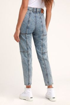 Jeans Casual, Casual Wear For Men, Trendy Jeans, Casual Attire, Casual Outfits, Ripped Jeggings, Ripped Skinny Jeans, Receptionist Outfit, Best Chinos