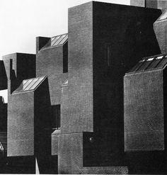 Nippon Dental College, Niigata, Japan, 1973 (Shin'ichi Okada) via fuckyeahbrutalism