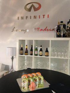 sushi + Infinti Lounge
