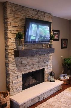Stone Wall Interior Design Ideas_60