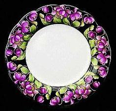 Royal Albert Provincial Flowers  Purple Violet - New Brunswick