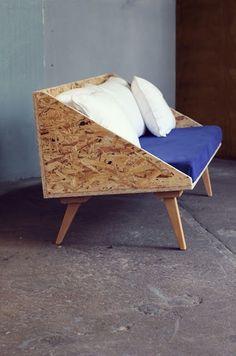 DE DERRIÈRE LES FAGOTS: le petit canapé / banquette / 600 euros