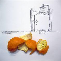Cool Cartoon Pencil Drawings by Iranian Caricaturist Majid Khosroanjoms