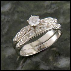 26 Best Wedding Ring Sets Images On Pinterest Wedding Band Sets