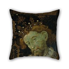 Slimmingpiggy Oil Painting Jaume Mateu  Alfons III The Liberal Cushion Covers 20 X 20 Inches  50 By 50 Cm Gift Or Decor For Pubkitchenbenchcouplesplay Roomchristmas  Each Side *** You can find out more details at the link of the image.