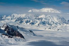 The Glacier Fields of Kluane National Park - Yukon, Canada