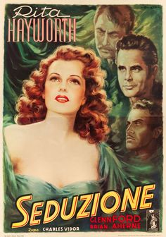 The Lady In Question | First Post-War Release Italian 4 - Foglio Movie Poster, 1949