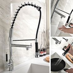 Ufaucet Chrome Polished Hi Arc Functional Kitchen Vessel Sink Faucets,best  Amazon Bar Sink
