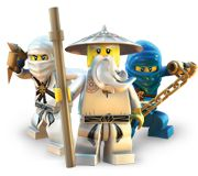 It's ninjas. In Lego. How can you get more awesome than that?!